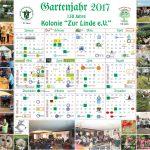 Kalender Jahresüberblick 2017 ist da